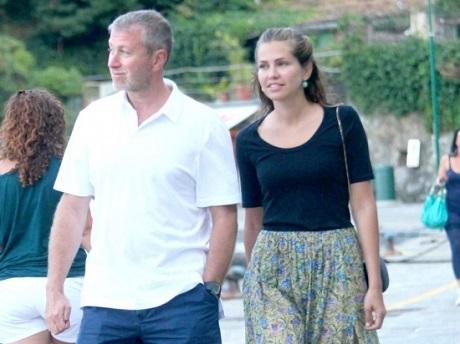 Абрамович и Жукова в Портофино