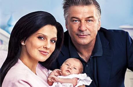 Новоиспеченный отец Алек Болдуин показал свою дочку