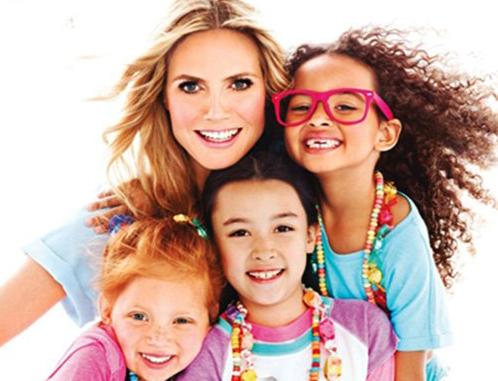 Хайди Клум скрывает своих детей и снимается в фотосессии с чужими