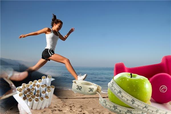 Забудь о вредных привычках и займись спортом!