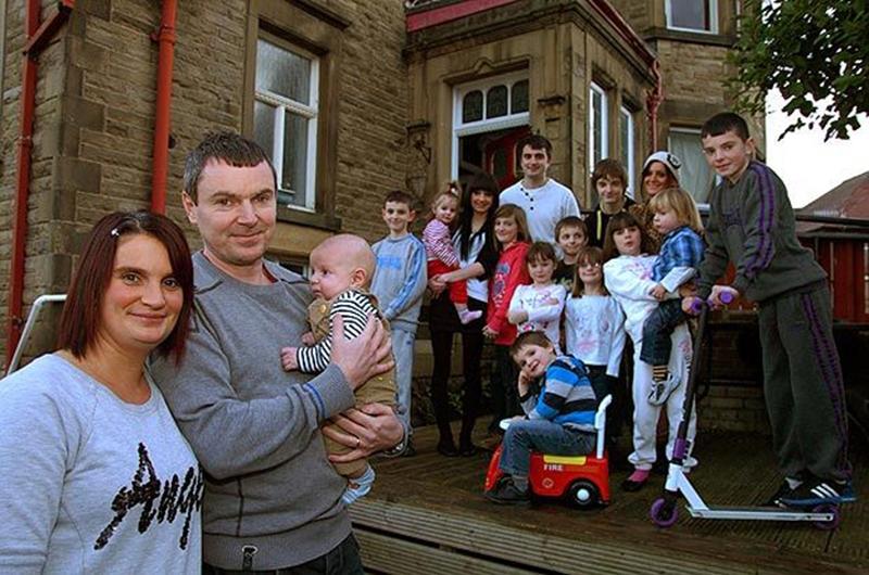 Cамая большая семья Британии снова ждет пополнения
