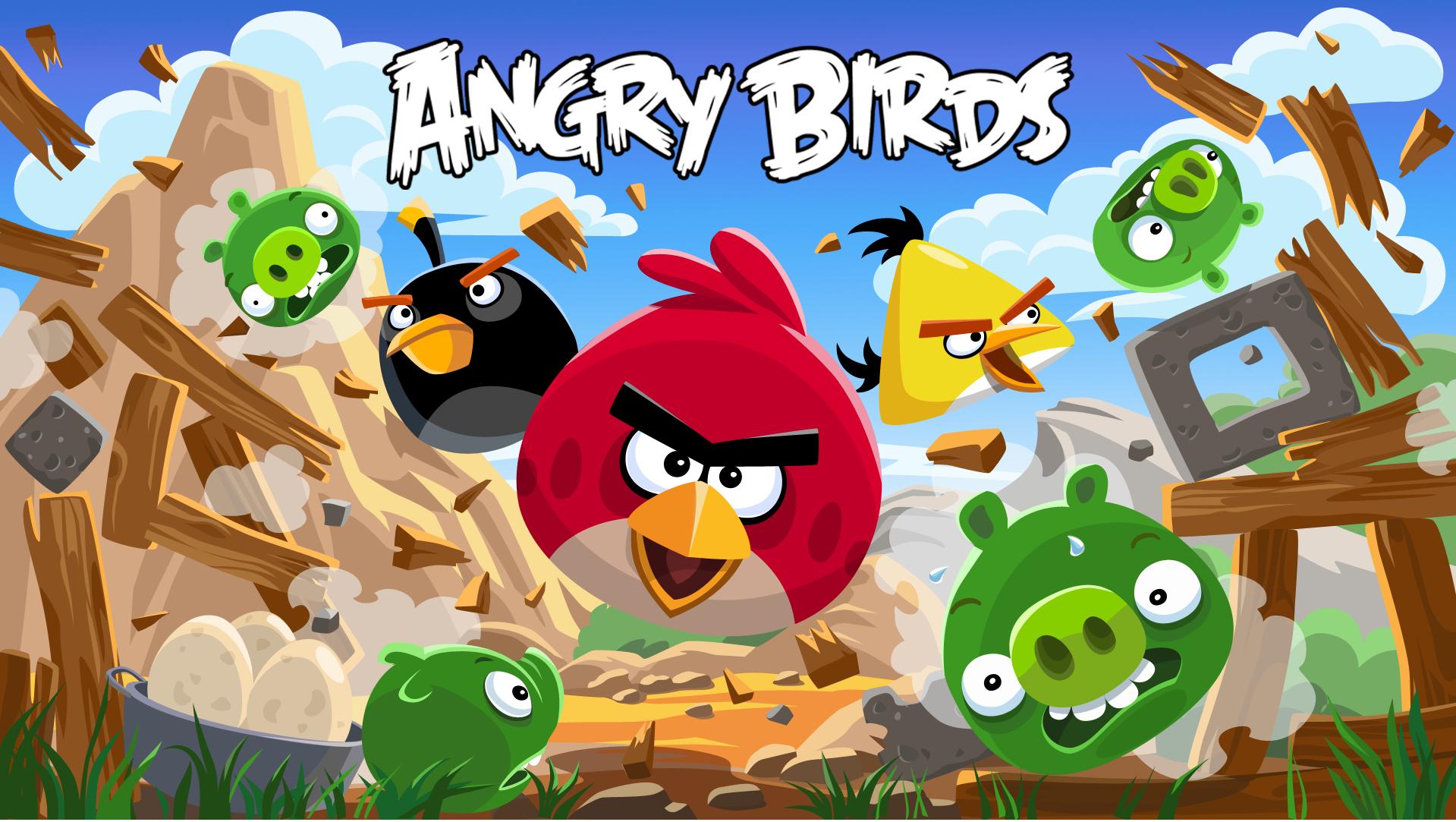 Angry Birds поможет в развитии детей!