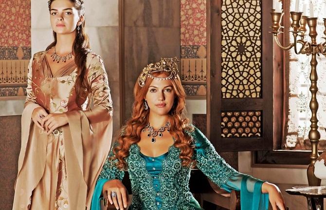 Хюррем Султан родит дочку
