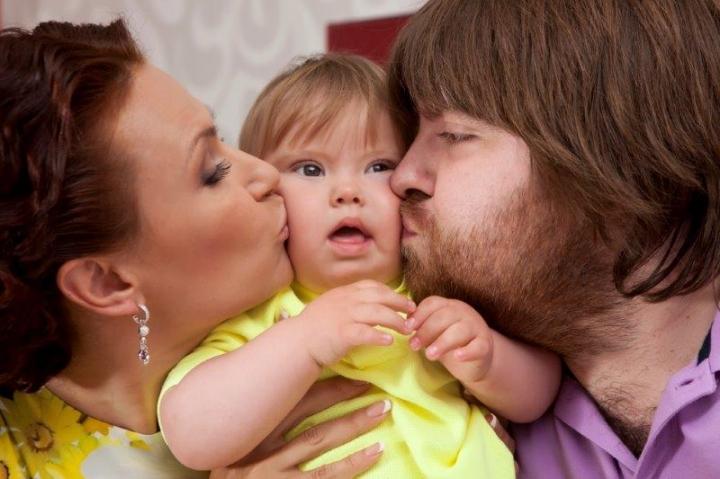 Сын Эвелины Бледанс сказал свое первое слово. И это не «мама»!