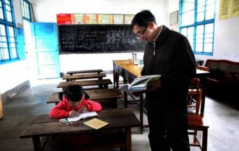 Самая маленькая школа Китая: в классе учится всего один ребенок