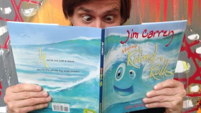 Подарок от великого комика: Джим Керри написал для детей книжку