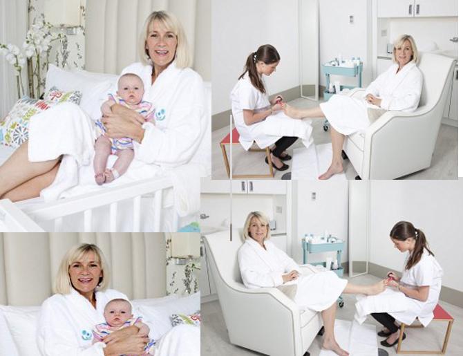 В мире появился первый спа-отель для новорожденных и их мамочек