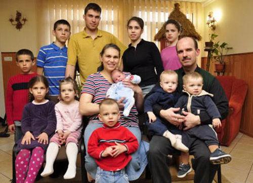 Герои нашего времени: украинка Леонора родила своего 21-го малыша!