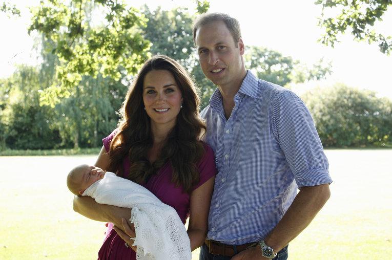23 октября Кейт Миддлтон и принц Уильям окрестят принца Джорджа