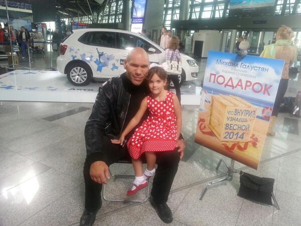 Дочка боксера Валуева стала актрисой!