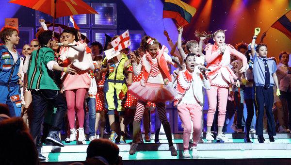 На «Детское Евровидение-2013» ищут волонтеров