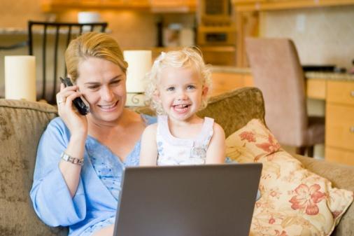 Работающие мамы намного здоровее мамочек-домохозяек