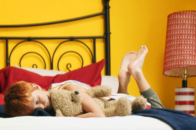 Дневной сон положительно влияет на память ребенка