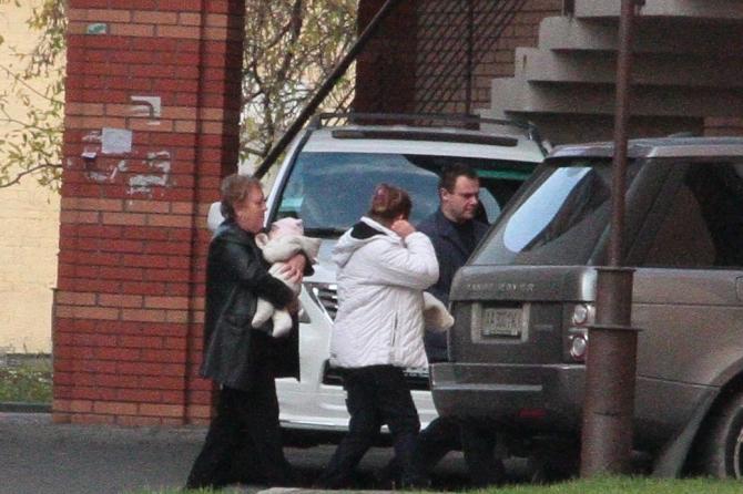 В Сети появилось первое фото 4-месячной дочери Евы Бушминой
