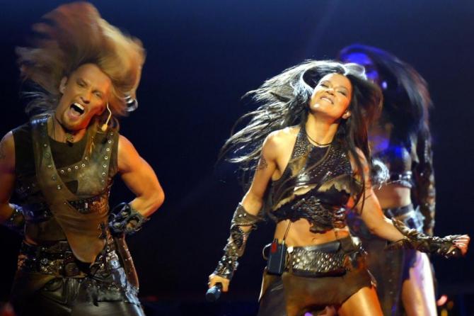 Финал детского Евровидения запомниться грандиозным перфомансом от Русланы