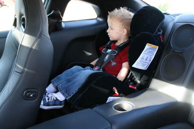 Что делать, если ребенка укачало в авто