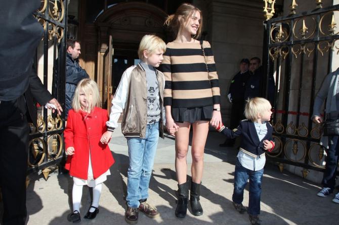 Наталья Водянова: Я не идеальная мама