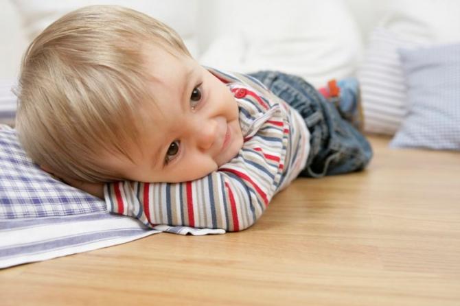 Причина астмы у детей – линолеум в детской комнате