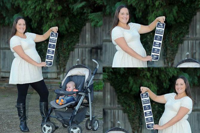 Тройное счастье: Сара Вард зачала тройняшек без ЭКО сразу после рождения своего первенца