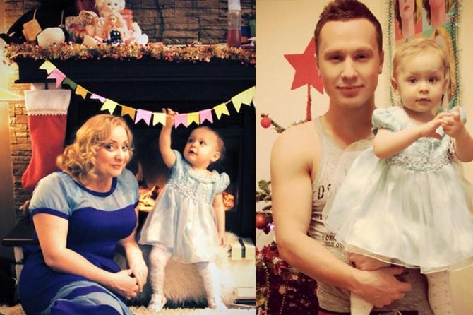 Люба из Интернов показала семейный Новый год