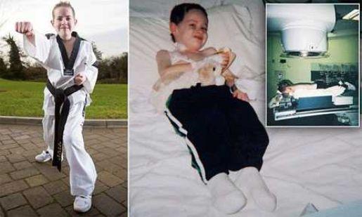 Ребенок-герой: Ему прогнозировали смерть, а он выздоровел и добыл черный пояс по тхэквондо