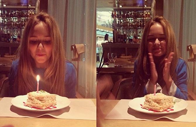 14-й день рождения Стефании