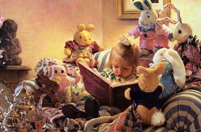 Дети становятся умнее, если верят в чудеса