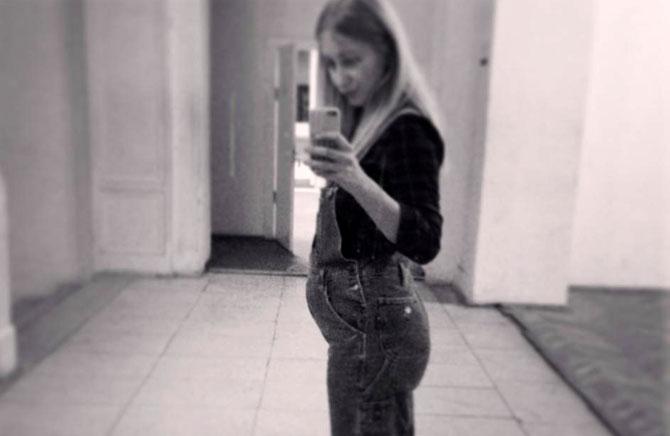 Новое беременное фото Стаси
