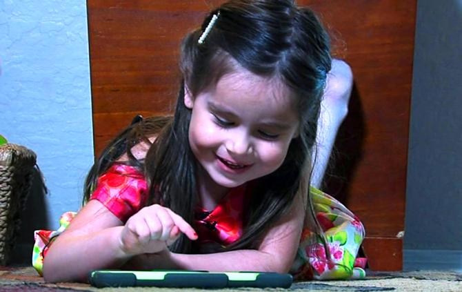Трехлетний гений: Алексис Мартин стала самой умной малышкой на планете