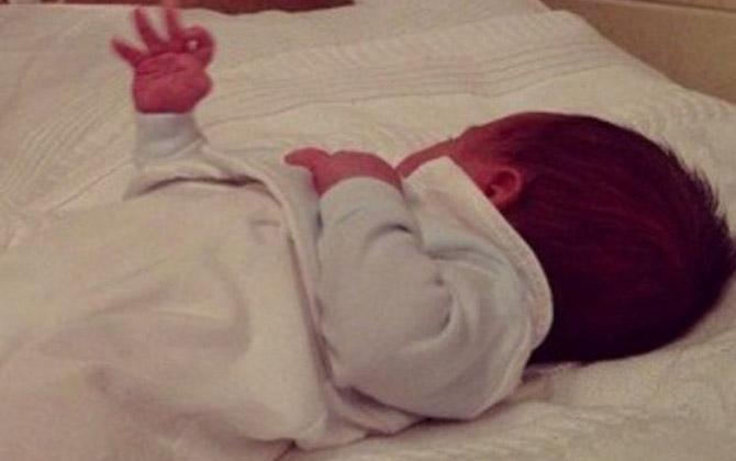Маленькая Вероника на отдыхе