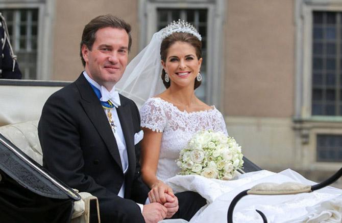 Дочь короля Швеции стала мамой