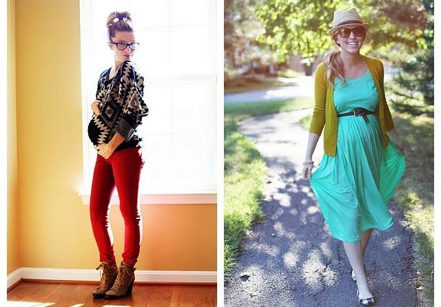 Как цвет одежды влияет на состояние беременной женщины