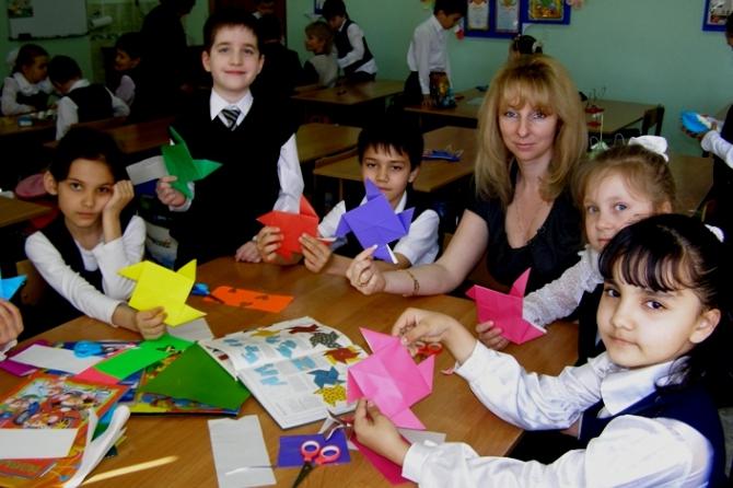 Познакомь ребенка с миром оригами
