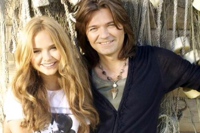 Дочке Дмитрия Маликова уже 14 лет