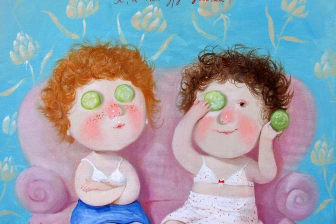 """Выставка работ Евгении Гапчинской в галерее """"Счастье"""""""