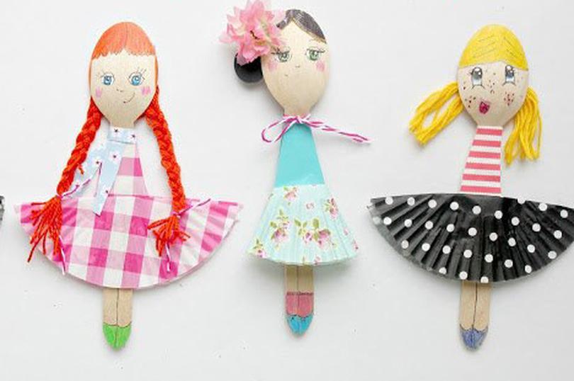 Поделки и куклы и мастер-классы по ним 149