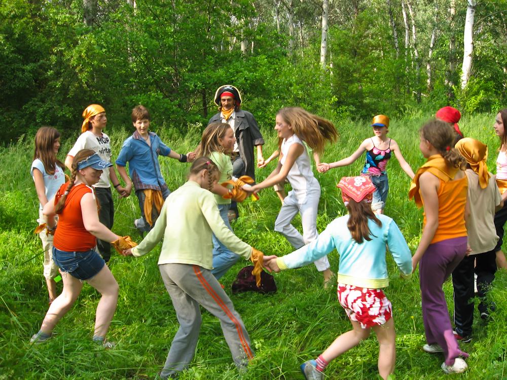 Конкурсы для детского день рождения на природе
