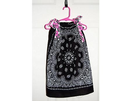 Платье для ребенка из платков
