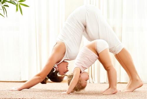 Развитие ребенка йога