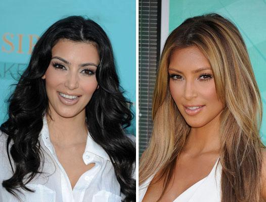 Переход цвета от черного до и после