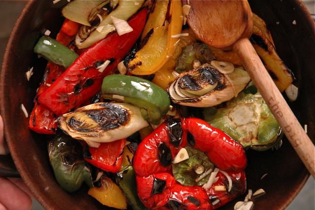 Овощи на мангале салат рецепты 90