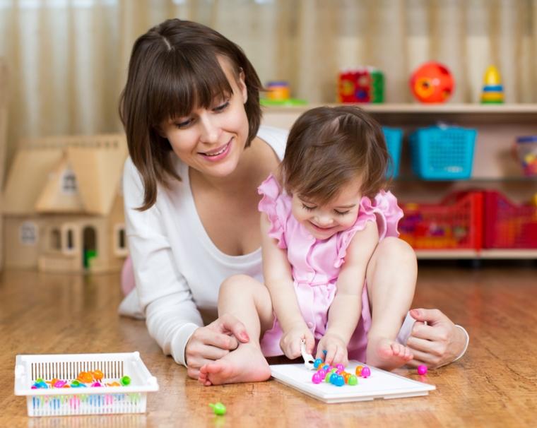 Развитие ребенка, во что играть