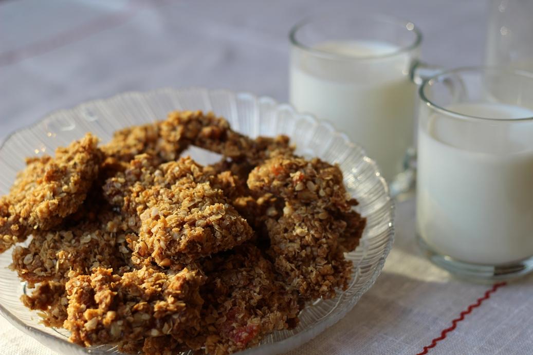 Рецепт овсяного печенья пошагово с