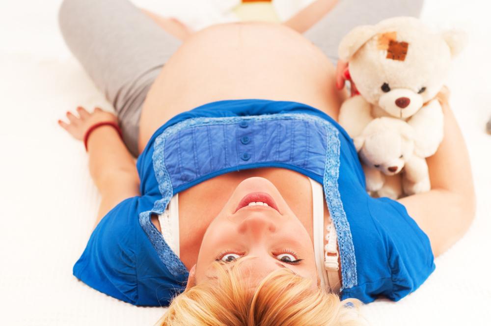 Беременность как правильно лежит ребенок