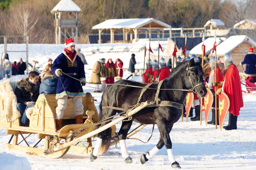 Новогодние праздники с размахом в Княжестве Киевская Русь