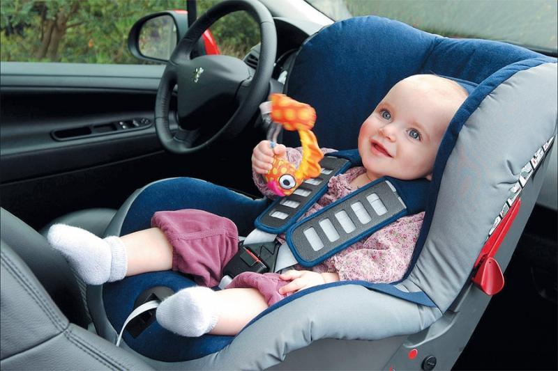 Как сделать детское кресло на машину