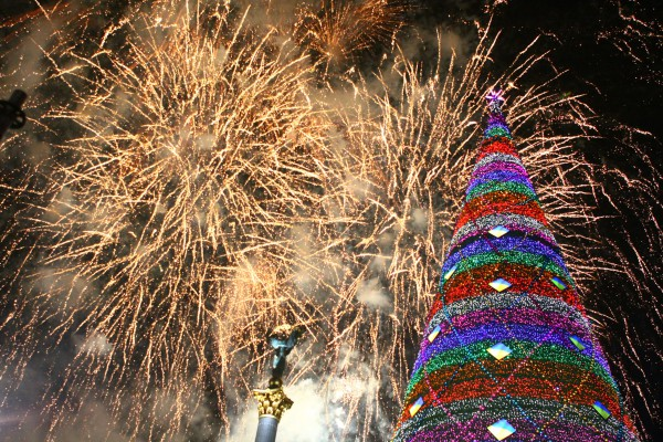 Праздники на новый год на украине