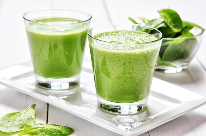 Рецепт зеленого смузи