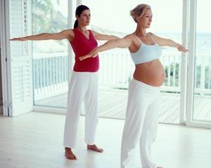Полезная гимнастика для беремнных
