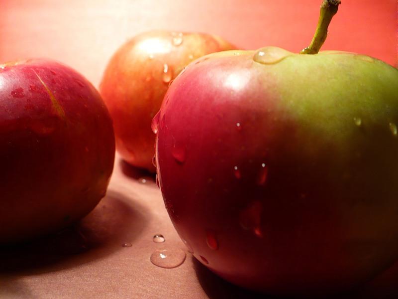 Яблоки во время планирования беременности